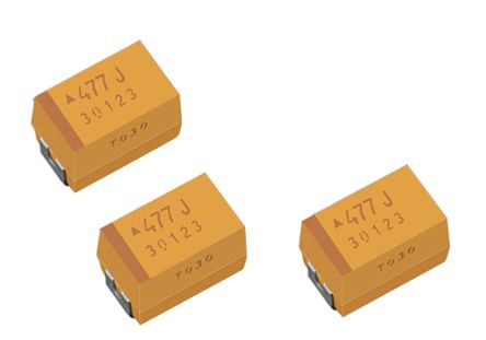 EPCOS Electrolytic Capacitor 68μF 25V dc Electrolytic Solid ±10% Tolerance TPM Series