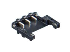 Hirose DF58 58, 1.2mm Pitch, 3 Way, 1 Row, Straight PCB Header, Surface Mount
