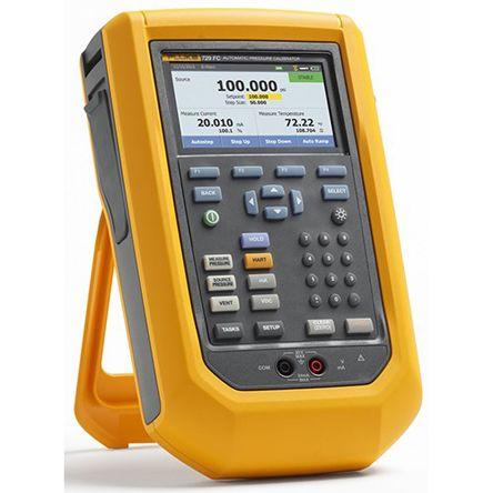 Fluke -82.73 kPa, -12 psi, -0.82 bar to 10.34 bar, 150 psi, 1034.21 kPa FLK-729 150G Pressure Calibrator