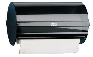 Tork Plastic Black Wall Mounting Paper Towel Dispenser, 171mm x 171mm x 296mm
