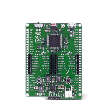 MikroElektronika Clicker 2 for dsPIC33 MCU Add On Board MIKROE-2567