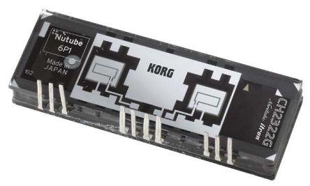 Nutube VFD-based Dual Triode Valve 80V