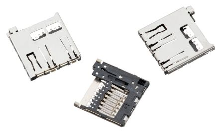 Wurth Elektronik 693 Series, Header for use with Micro SD Card