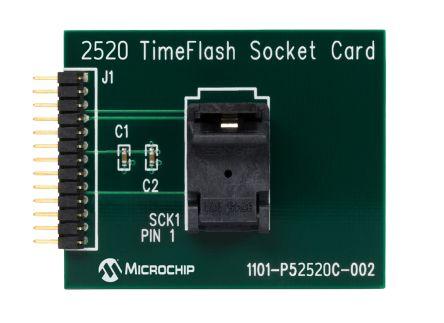 Microchip DSC-PROG-3225, Socket Card Socket Card for DSC8001 for Time Flash Oscillator Programming Kit