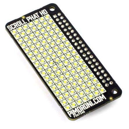 PIM276, PIM276, Scroll pHAT LED Matrix Add On Board for Raspberry Pi LED Matrix Add On Board product photo