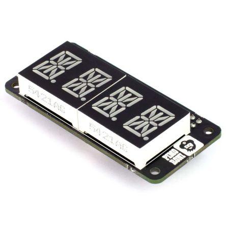 Pimoroni PIM274, Four Letter pHAT LED Matrix Display Development Board With  PIM274 for pHATs