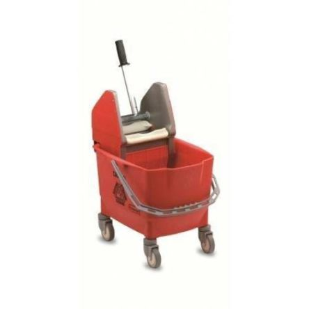 25L PP Red Bucket With Handle product photo