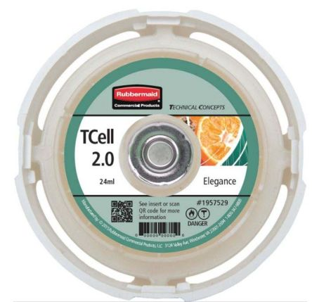 Rubbermaid Commercial Products Air Freshener, For Use With TCell 2.0 Fan Dispenser
