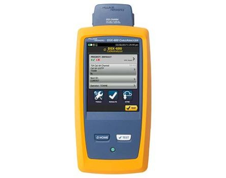 Fluke Networks Network Cable Tester Cable Tester RJ45, DSX-600