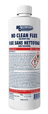 MG Chemicals 1 L Bottle Flux Remover for Printed Circuit Board Assembly, Printed Circuit Board Rework, Printed Circuit