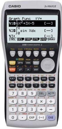 CASIO Graphic Calculator Model FX-9860G Power Graphic