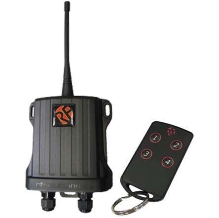 RF SOLUTIONS 1 x FOBBER-8T4 4 Channel 868MHz Keyfob Transmitter ...