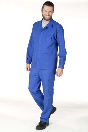 New Pilote Blue Men's Cotton Shrink Resistance Trousers product photo