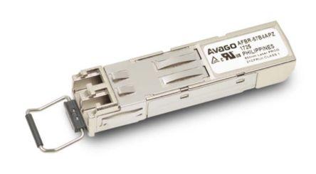 125 MBd 155.52 MBd, LC Connector Broadcom HFBR-57E0LZ Fibre Optic Transceiver