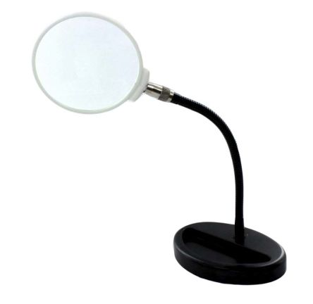 RS PRO Magnifying Lamp with Integral Base, 3dioptre, 115mm Lens, 115mm Lens