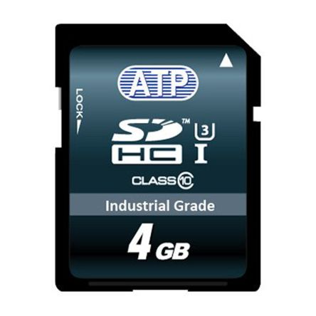 ATP 4GB SLC SDHC Card Industrial