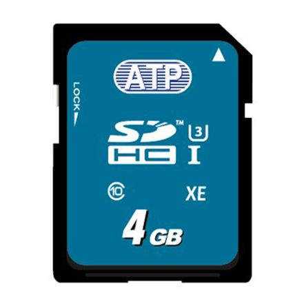 ATP 4GB aMLC SDHC Card Industrial