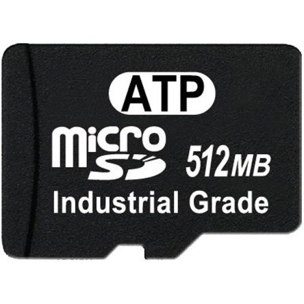 ATP 512 MB SLC Micro SD Card