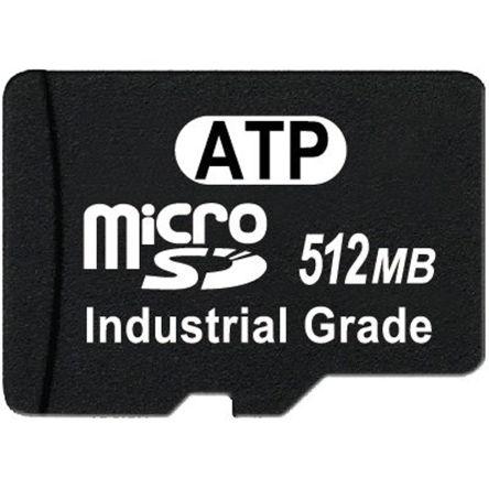 ATP 512MB SLC microSD Card Industrial