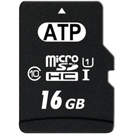 ATP 16 GB MicroSDHC Card Class 10, UHS-1 U1