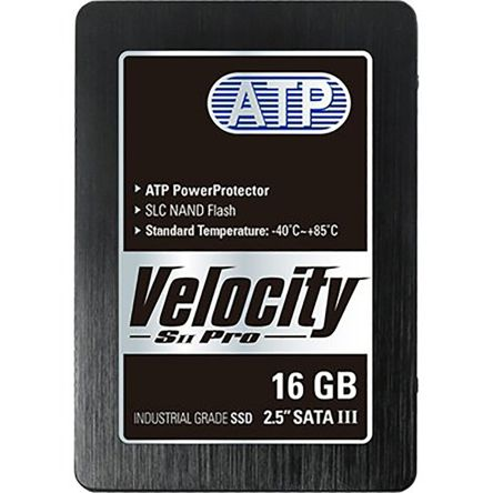 ATP Velocity SII Pro 2.5 in 16 GB Industrial SSD Drive