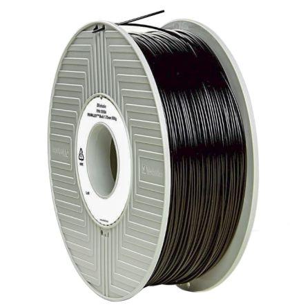 1.75mm Black White Blue VERBATIM ABS 3D Filament