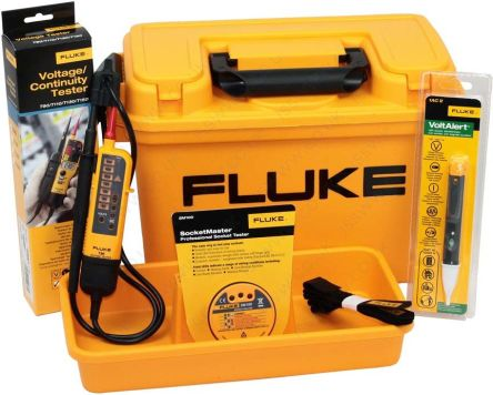 Fluke FLK-STU-KIT Voltage Indicator Electricians Starter Kit, CAT IV 1000 V