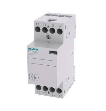 A9C20838 | Schneider Electric 4 Pole Contactor, 25 A, 230 V ac Coil on