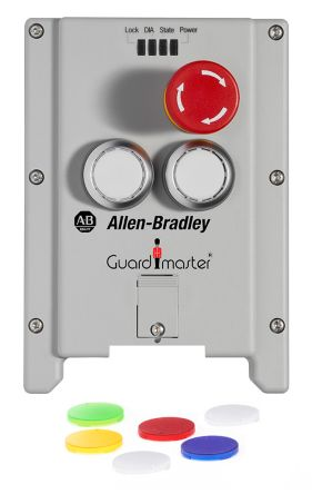Allen Bradley Guardmaster 442G-MAB-C03 Lock Module Replacement Cover, For  Use With 442G Multi-Functional Access Box