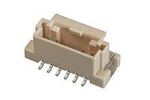 Molex DURACLIK 560020, 2mm Pitch, 6 Way, 1 Row Shrouded, Vertical PCB Header, Surface Mount