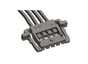 Pico-Lock OTS 15131 Series Number Wire to Board Cable Assembly 1 Row, 2 Way 1 Row 2 Way, 100mm product photo