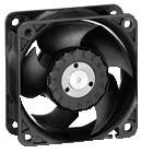 DC Axial Fan, 60 x 60 x 25.4mm, 30m³/h, 1.5W, 24 V dc (624 M Series)