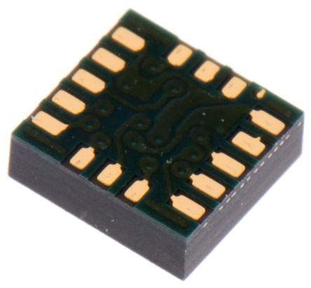 ADXL344ACCZ-RL7 Analog Devices, 3-Axis Accelerometer, I2C, SPI, 16-Pin LGA