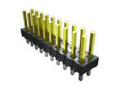 Samtec TSW, 2 Way, 1 Row, Vertical Pin Header