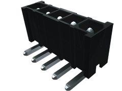 Samtec Power Mate IPBT, 4.19mm Pitch, 4 Way, 2 Row, Vertical PCB Header, Through Hole