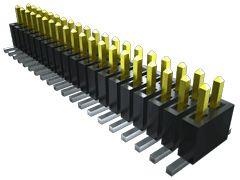 Samtec, FTSH, 10 Way, 2 Row, Vertical Pin Header