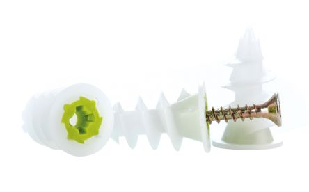 Green, White Metal, Nylon Self Driving Cavity Fixing with 3mm fixing hole diameter product photo