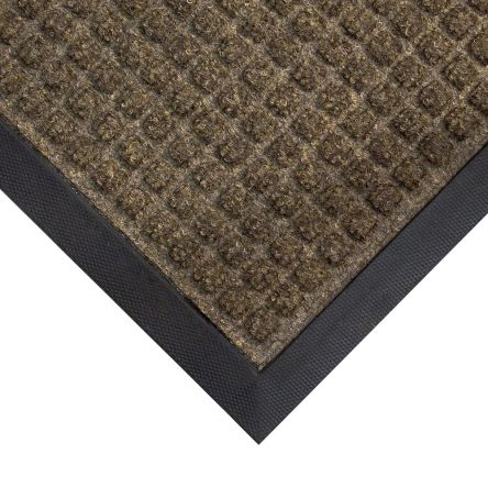 Anti-Slip, Door Mat, Carpet, Indoor Use, Black, 900mm 600mm 7mm product photo