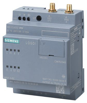 Siemens LOGO! 8 Communication Module, 24 V dc, 2 x Input, 2 x Output Without Display