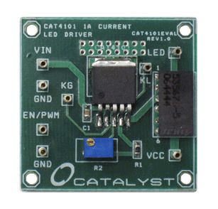 CAT4101AEVB, LDO Current Sink LED Driver Evaluation Board for CAT4101TV-T75 for LDO Current Sink product photo