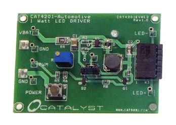 CAT4201AGEVB, High Efficiency Step-Down Converter Evalution Board LED Driver Evaluation Board product photo