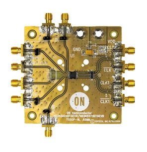 ON Semiconductor NB3N5573DTGEVB, Clock Generator Evaluation Board Clock Generator Evaluation Board
