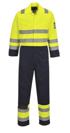 Yellow/Navy Reusable Coverall, L product photo