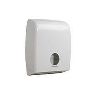 Kimberly Clark White Toilet Roll Dispenser