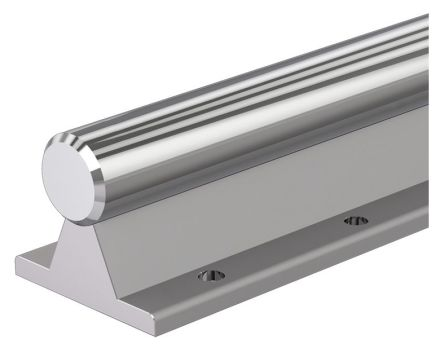 1m Long Aluminium, Steel Round Shaft, 16mm Shaft Diam. , Hardness 60HRC, h6 Tolerance product photo