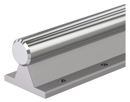 1m Long Aluminium, Steel Round Shaft, 25mm Shaft Diam. , Hardness 60HRC, h6 Tolerance product photo