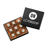 ON Semiconductor LC709203FQH-01TWG Lithium-Ion, Battery Fuel Gauge IC, 2.5 → 4.5 V 8-Pin, WDFN