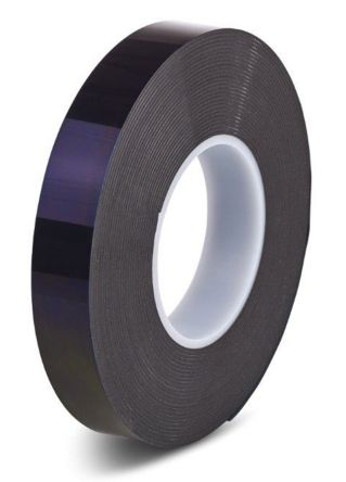 Hi-Bond HPS 080B Black Polyethylene Foam Tape, 0 8mm Thick , 12mm x 33m |  Hi-Bond | RS Components UAE