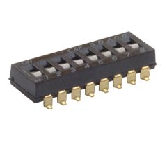 1 Way Surface Mount DIP Switch SPST, Raised, Slide Actuator product photo