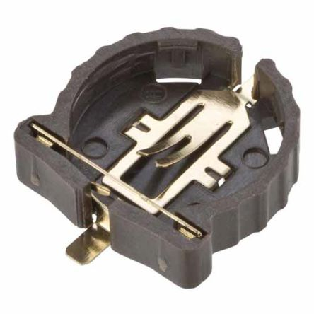 HARWIN Coin Cell Battery Holder, Solder Tag Contact